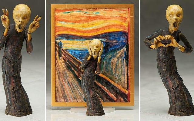 Edvard Munch's The Scream Jauh Lebih Mengerikan sebagai Action Figure