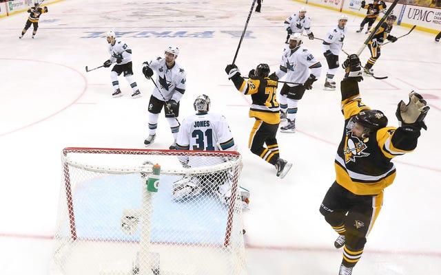 Lối chơi được gọi là của Sidney Crosby đã nỗ lực để hoàn thiện