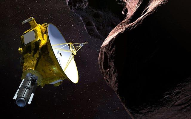 NewHorizonsが小惑星UltimaThuleから取得している測定値で、非常に奇妙なことが起こります。