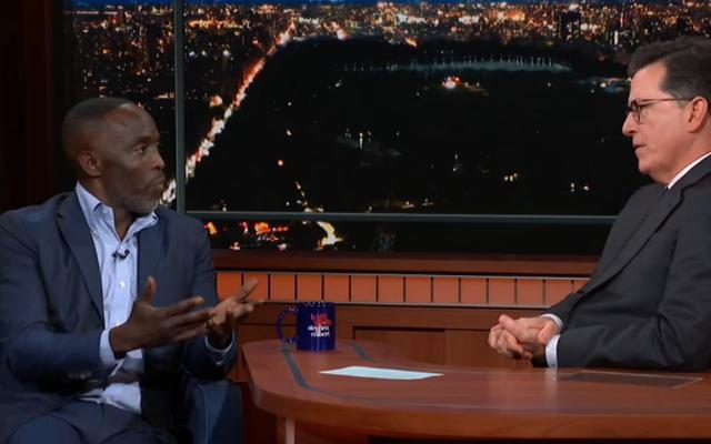 Michael K. Williams partage son histoire d'Anthony Bourdain et sa musique psych-up Omar sur The Late Show