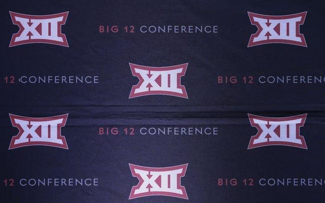 Rapporto: Big 12 decide che avere 10 membri va bene