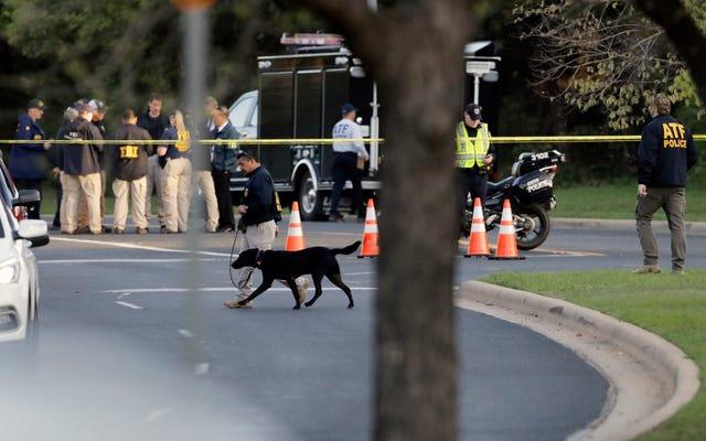 爆発的なパッケージの新しい道は、米国で最も有名なテロリストの1人であるUnabomberの姿を思い起こさせます。