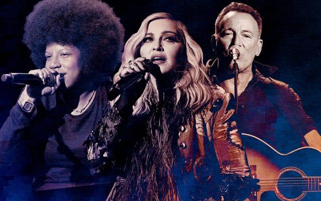 मैडोना और द बॉस नए संगीत में एक अन्यथा इंडी-हैवी जून का नेतृत्व करते हैं