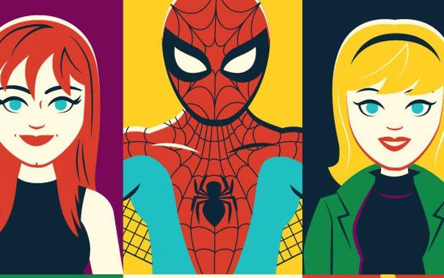 Homem-Aranha e seus incríveis amigos (e inimigos) compartilham este pôster igualmente incrível