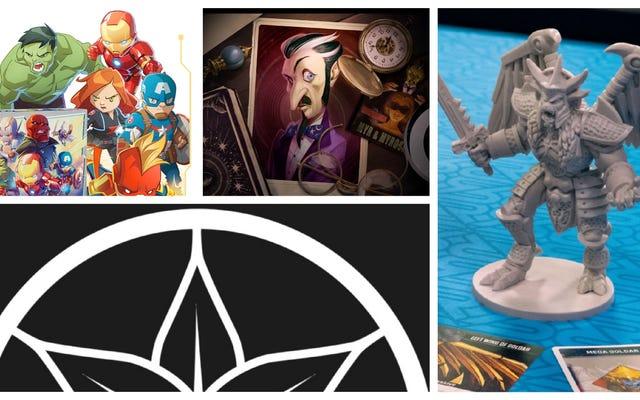Wonder Woman, Marvel Heroes y Power Rangers son estrellas de las últimas noticias de mesa