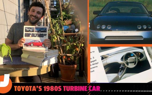 トヨタは80年代にとても裕福で、実用的なタービン車を製造しました