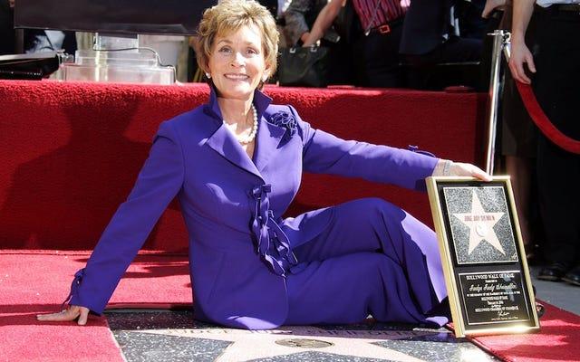 ジュディ裁判官はテレビで最も高給の人物であり、すべてが世界で正しい