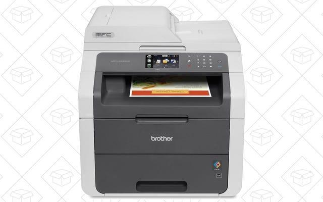 यह भाई लेजर प्रिंटर कलर में प्रिंट कर सकता है, और यह कभी सस्ता नहीं हुआ है