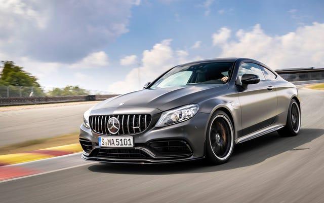 J'ai entendu une rumeur sur la Mercedes-AMG C63 et c'est de la merde