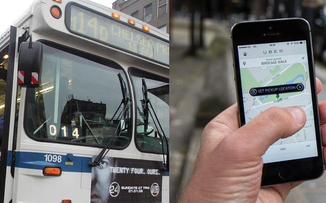 Uber dan Lyft Datang Untuk Transportasi Umum