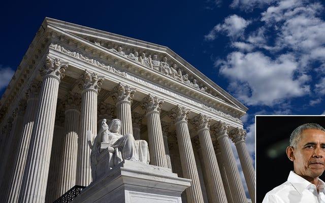 Mahkamah Agung Menghentikan Kebijakan Asuransi Kesehatan Pribadi Obama