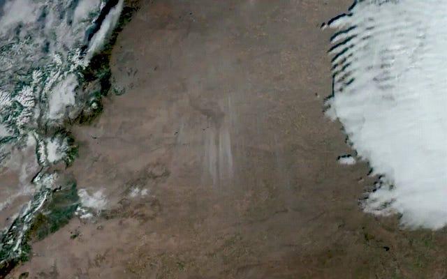 Esta enorme tormenta de polvo en Colorado podría verse desde el espacio