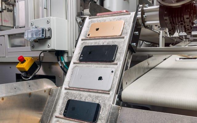 AppleのE-Waste問題は、解決するのにロボット以上のものを必要とします