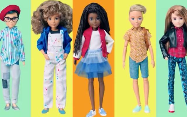 Il produttore di Barbie Mattel rilascia una nuova linea di bambole neutre rispetto al genere