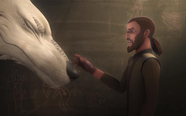 Última hora: Ahsoka de Star Wars Rebels no se ha transformado de repente en un lobo gigante