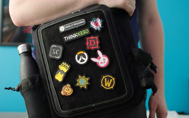 ThinkGeek Membuat Tas Terbaik untuk Dibawa ke Konvensi