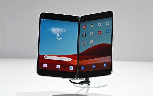 Этот Android-телефон Microsoft с двумя экранами может появиться намного раньше, чем вы думаете