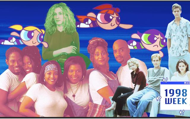 セックス、都市、ソックパペット、スーパーヒーロー、ショートスカート:1998年のテレビの24時間