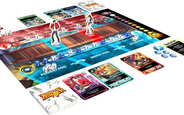 2डी फाइटिंग गेम्स का बोर्ड गेम संस्करण