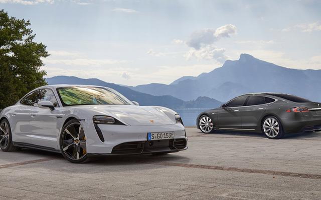 Tes Mobil Dan Pengemudi Antara Porsche Taycan Dan Tesla Model S Membuktikan Porsche Benar