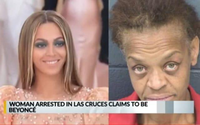 Une femme vole une voiture et dit aux flics qu'elle est Beyoncé. Personne n'avait besoin d'un test ADN de Maury pour déterminer qu'il s'agissait d'un mensonge