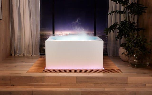 ห้องน้ำสุดหรูแห่งอนาคตมีอ่างอาบน้ำ RGB-Lit มูลค่า 16,000 เหรียญและห้องสุขาแบบไร้สัมผัส