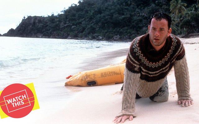 Tom Hanks et Robert Zemeckis ont fait leurs adieux au 20e siècle avec Cast Away