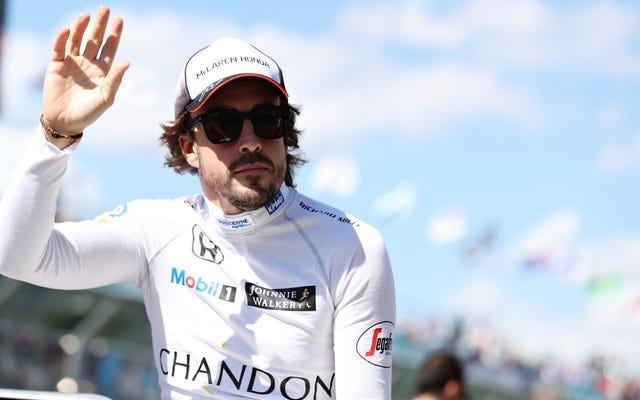 アロンソがF1バーレーングランプリを欠場し、大きな横転クラッシュから回復する