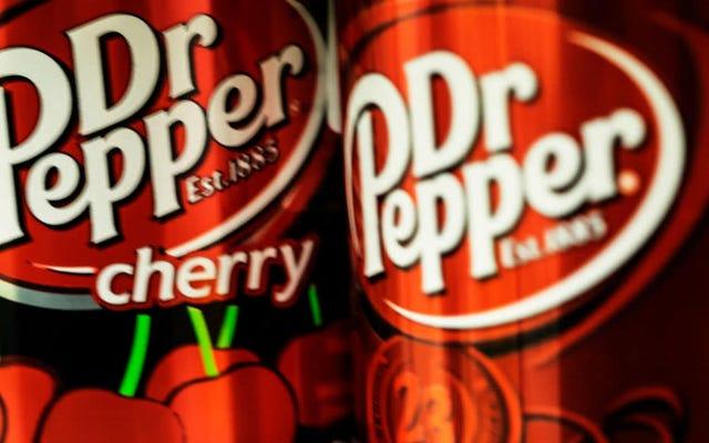 TIL: Les gens avaient l'habitude de boire du Dr Pepper chaud pendant les vacances