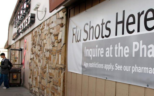 Ученые говорят, что их экспериментальный препарат выбивает из строя грипп, по крайней мере, в тестах на животных
