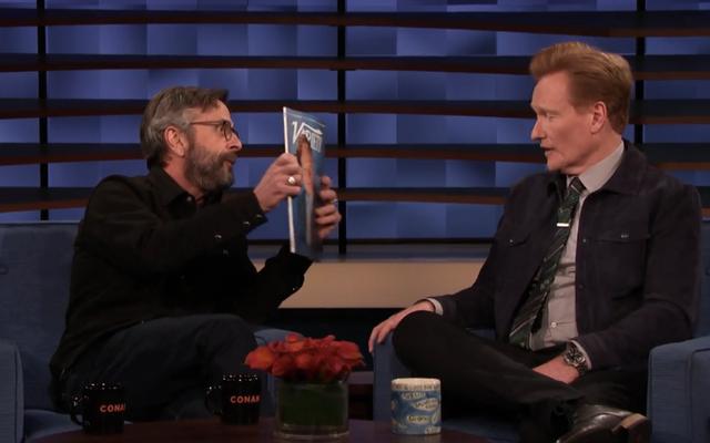 Marc Maron'un yeni başlayan Conan O'Brien'ın podcasting öncüsü olmasıyla ilgili bazı düşünceleri var