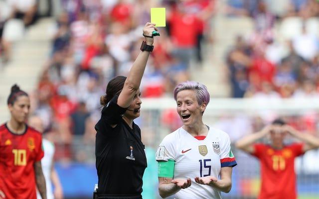 女子ワールドカップには審判の問題があります