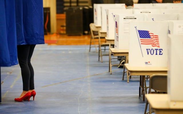 33人の民主党員がニューハンプシャー州の予備選挙に参加しており、これにはもう走っていない人々も含まれています