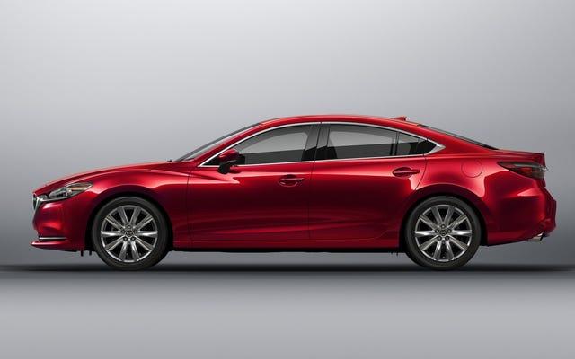 Le gouvernement fédéral vient peut-être de confirmer une Mazda6 2018 à traction intégrale
