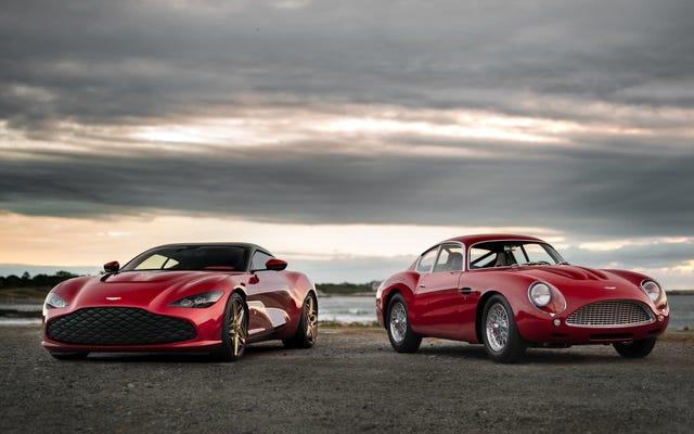 """DBS GT Zagato - новый Aston Martin со """"старым"""""""