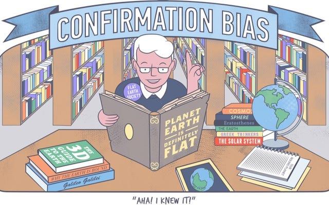 あなたが気付かないうちにあなたの意見を操作する10の認知バイアス(そしてそれらを回避する方法)