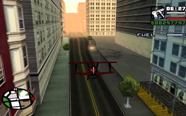Миссия GTA San Andreas настолько плоха, что Rockstar пришлось ее исправить
