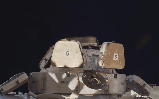 La première vidéo 8K de l'espace est cool, mais bonne chance de la regarder en 8K sur Terre