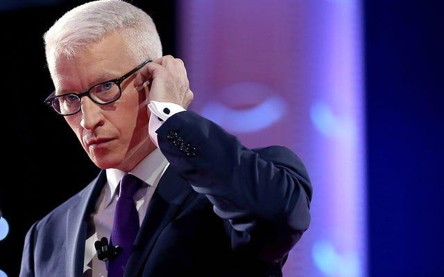 Quelqu'un a piraté le Twitter d'Anderson Cooper pour envoyer une seule insulte boiteuse au président