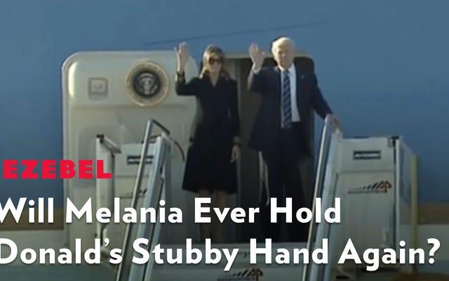 क्या मेलानिया कभी डोनाल्ड के जिद्दी हाथ को फिर से पकड़ पाएगी?