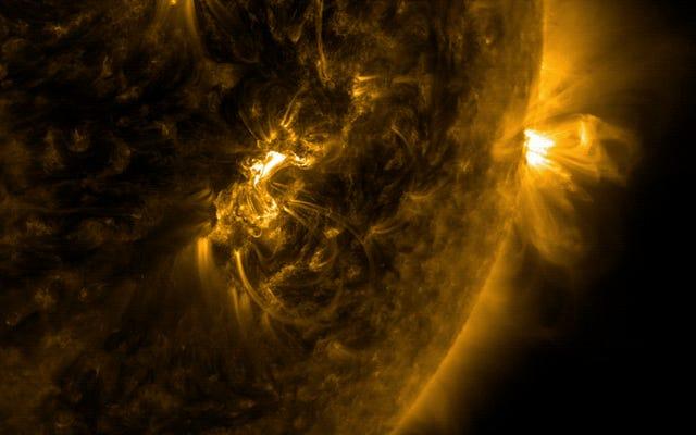 彼らは、軌道上の巨大な磁気シールドで太陽のフレアから地球を保護することを提案しています