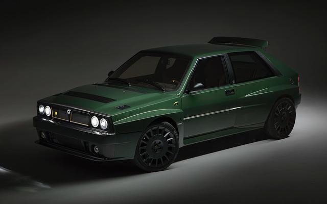 Automobili Amos Delta Futurista là một chiếc Lancia đáng kinh ngạc 350.000 đô la được mô phỏng lại
