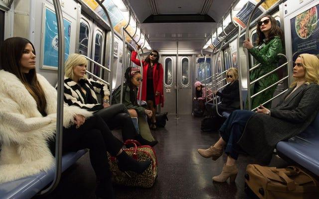 詐欺とニューヨークへのオード:オーシャンズ8の多様性と強さに関するラッパーオークワフィナ