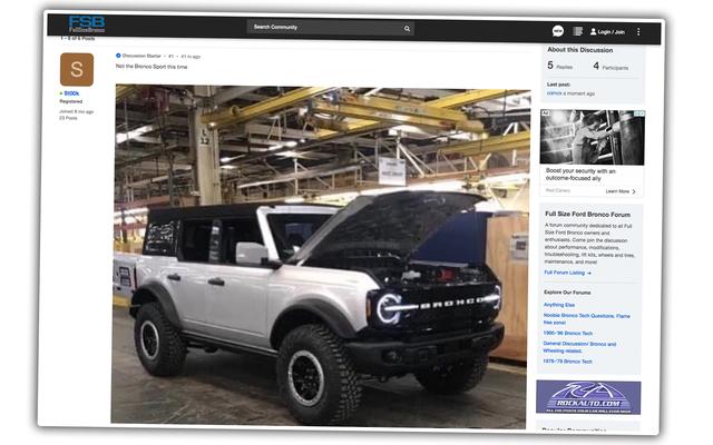 2021 Ford Bronco: to prawdopodobnie to