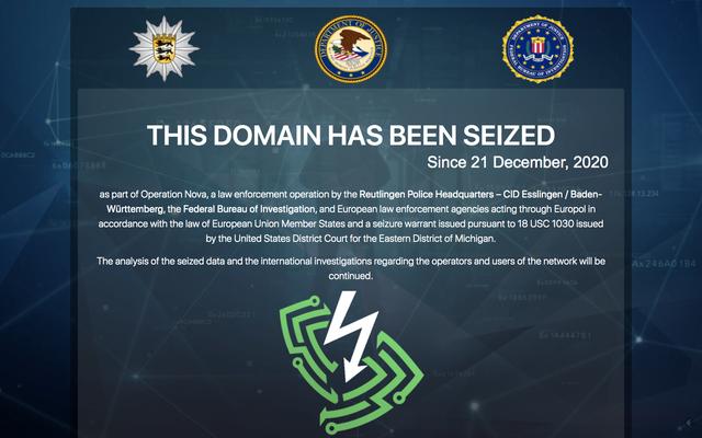 La aplicación de la ley global se apodera de la red VPN favorecida por los ciberdelincuentes
