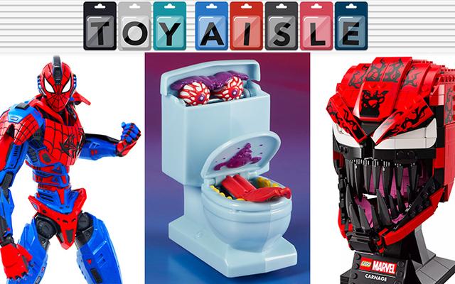 Nhà vệ sinh ma và tất cả các tin tức về đồ chơi phi quang phổ khác trong tuần