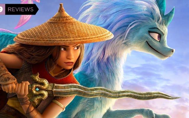 ラヤと最後のドラゴンは爽快で、心に訴える、アニメーションの冒険です
