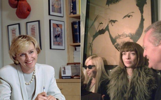 結局、ブラボーはティナ・ブラウンとアナ・ウィンターの台頭についてショーをしません