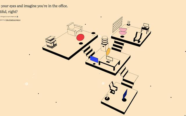 Ce simulateur de bruit de bureau rend le travail à domicile moins solitaire