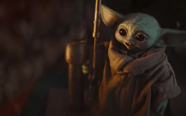 Zwyczaj przekąsek Małego Yody najwyraźniej miał być zabawny